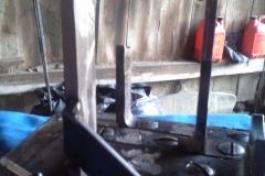 Schaltgabel repariert und verstärkt